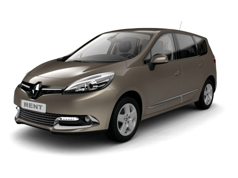 Renault Scenic прокат в Праге